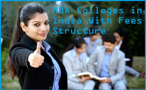 MBA Colleges in India Fees Structure
