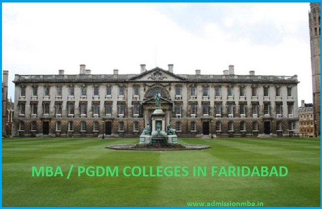 MBA / PGDM COLLEGES  FARIDABAD