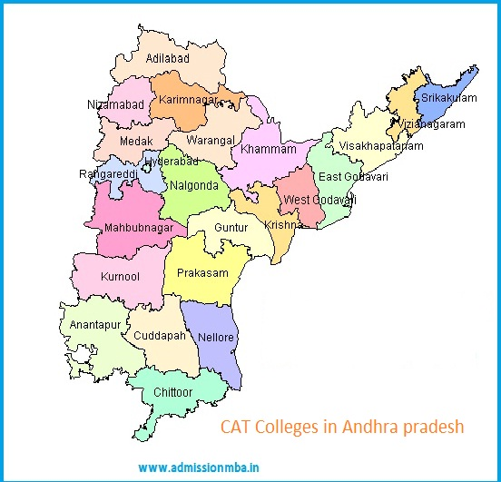 MBA Colleges Accepting CAT score in Andhra pradesh