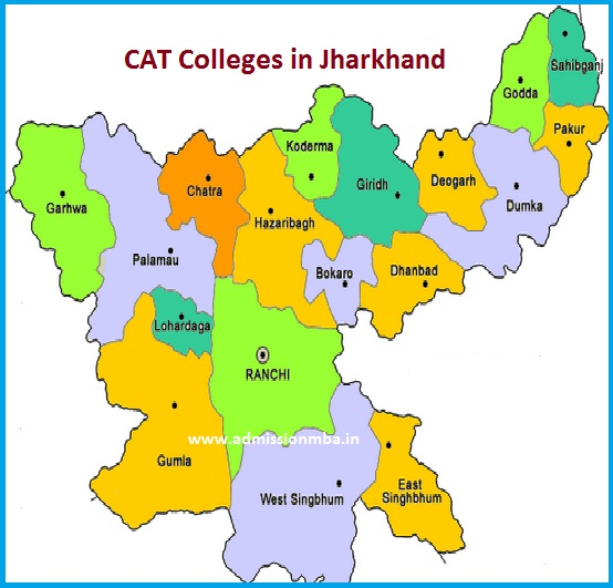MBA Colleges Accepting CAT score in Jharkhand