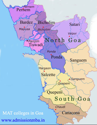 MBA Colleges Accepting MAT score in Goa