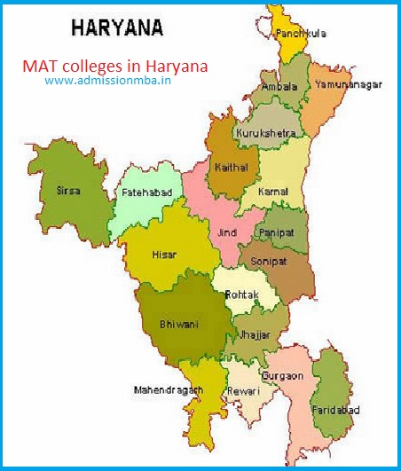 MBA Colleges Accepting MAT score in Haryana