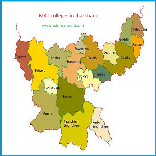 MBA Colleges Accepting MAT score in Jharkhand