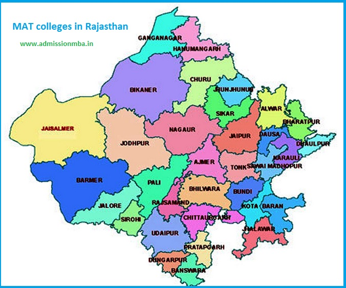 MBA Colleges Accepting MAT score in Rajasthan