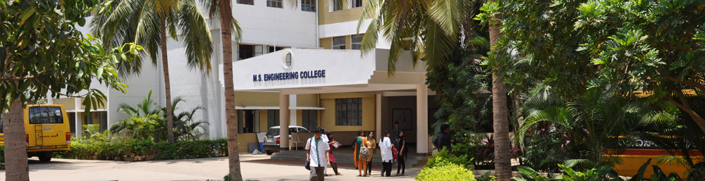 M. S. Engineering College in Karnataka
