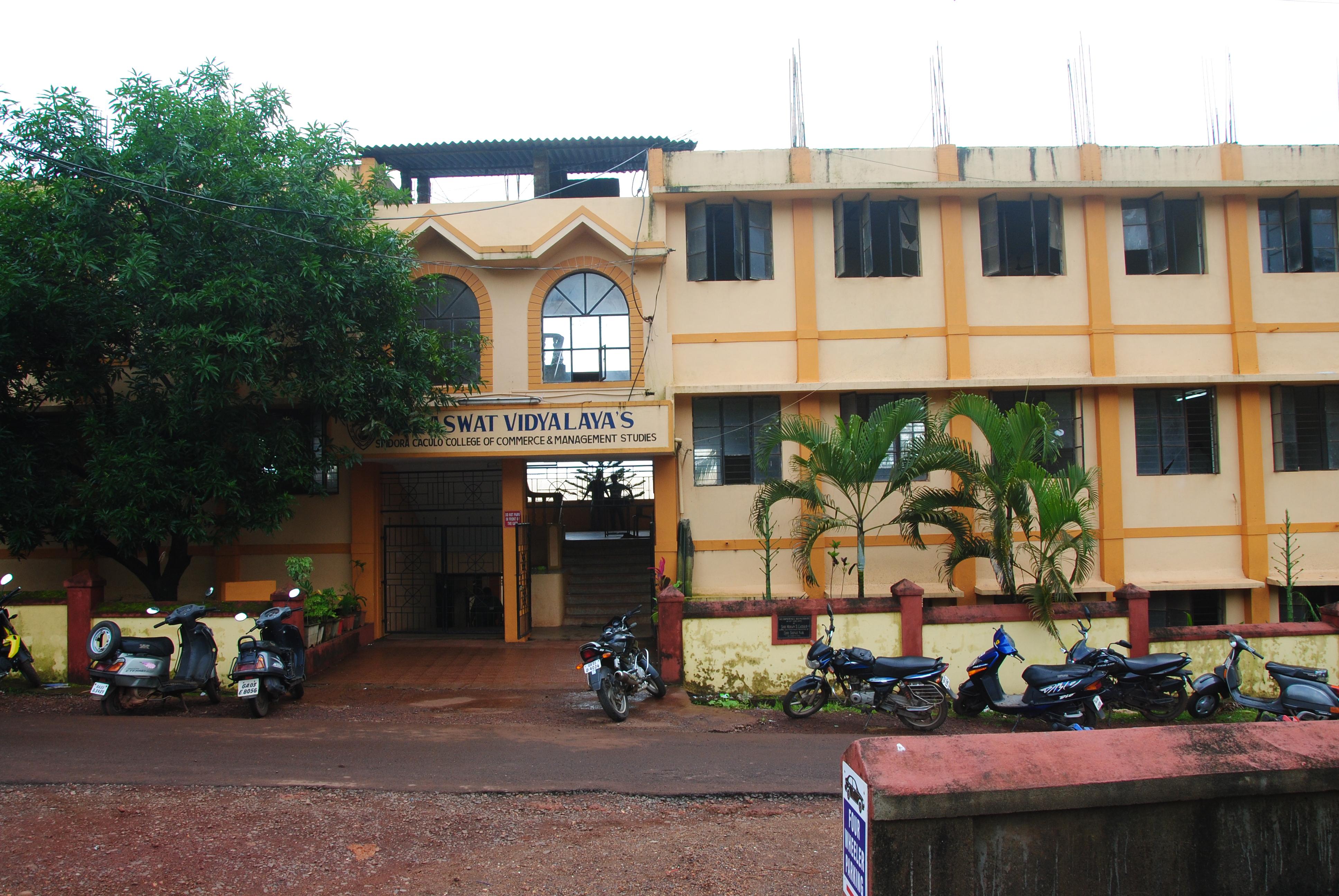 Saraswat Vidyalaya's Sridora Caculo College of Commerce and Management Studies in Goa