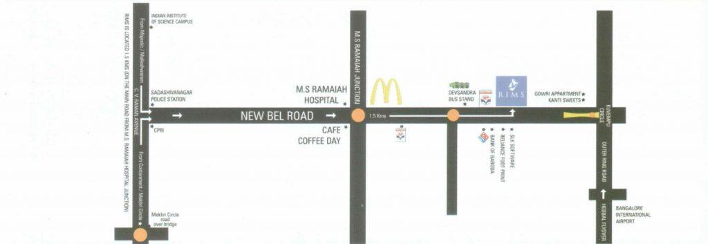 RIMS Bangalore Locational Advantage