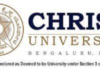Master Business Administration Christ University Bangalore