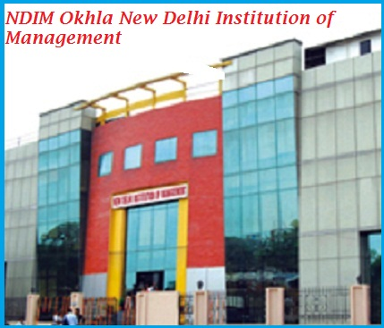 NDIM Okhla New Delhi Institution of Management