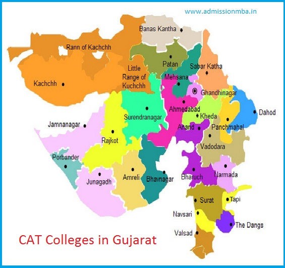 MBA Colleges Accepting CAT score in Gujarat