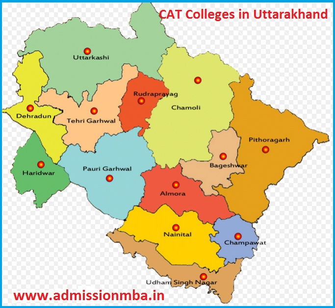 MBA Colleges Accepting CAT score in Uttarakhand
