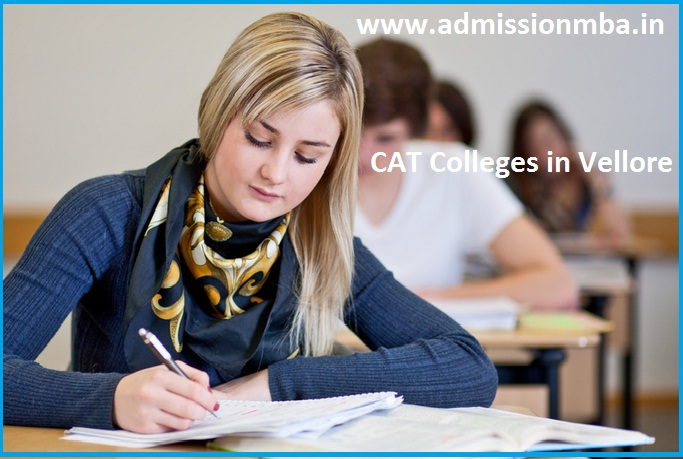 MBA Colleges Accepting CAT score in Vellore
