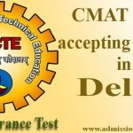 CMAT Score accepting colleges in Delhi