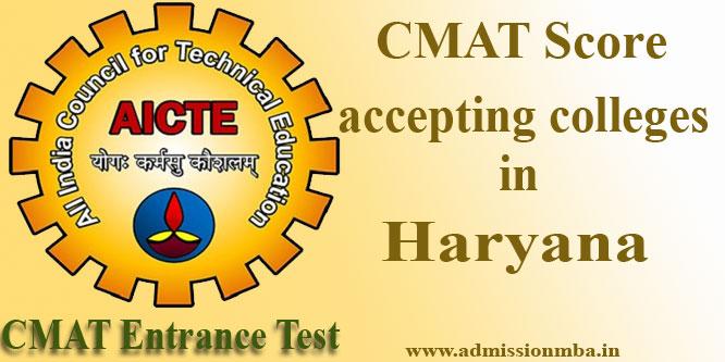 Top CMAT Colleges in Haryana