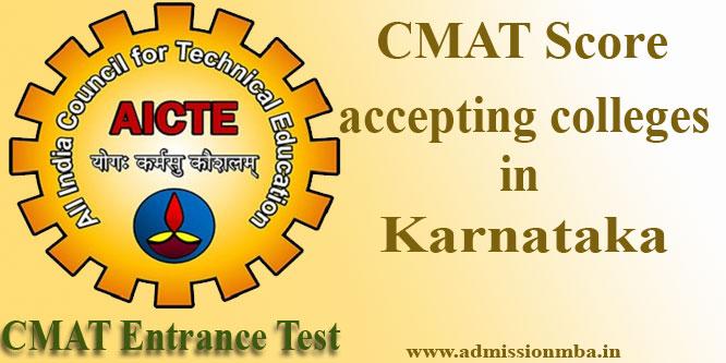 MBA/PGDM Colleges in Karnataka Under CMAT