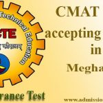 CMAT Score accepting colleges in Meghalaya