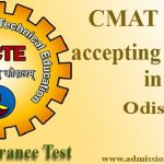 CMAT Score accepting colleges in Odisha