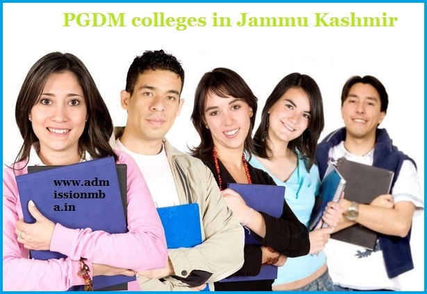 PGDM Colleges Jammu Kashmir