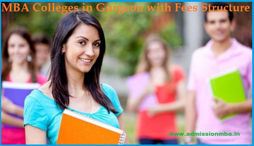 MBA Colleges in Gurgaon with Fees Structure