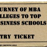 Journey of MBA colleges to Top Business schools