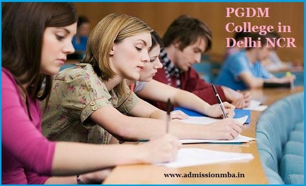 PGDM Colleges Delhi NCR