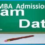 MBA Admission Exam Dates 2018-2019