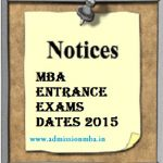 MBA Entrance Exams Important Dates, Time, Application Starts Ends