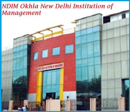 NDIM Okhla New Delhi Institution of Management