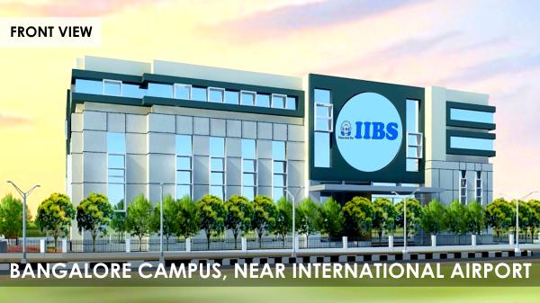 IIBS Bangalore Admission 2020