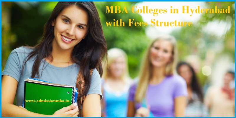 MBA Colleges in Hyderabad Fees Structure