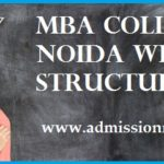 MBA Colleges in Noida with Fees NIRF Rank 2021