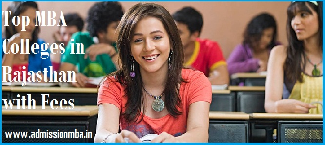 MBA Colleges in Rajasthan with Fees Structure