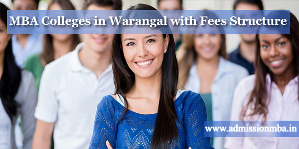 MBA Colleges in Warangal with Fees