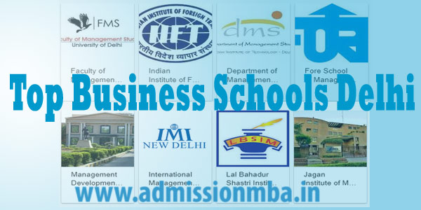 Top Business Schools Delhi