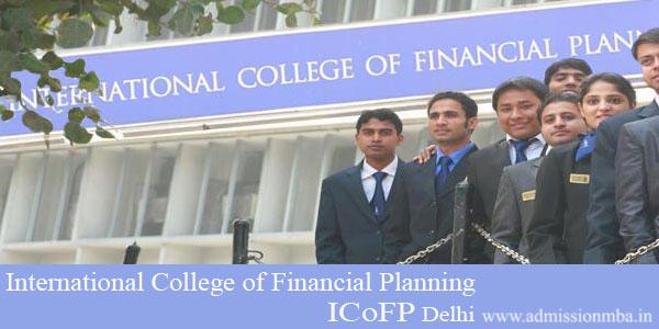 Icofp Delhi International College Of Financial Planning Delhi