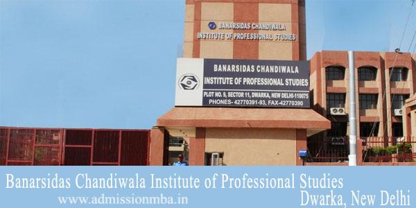 Bcips_Banarsidas Chandiwala Institute of Professional Studies_Campus