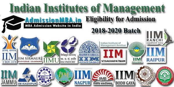 Iim Eligibility Criteria For Pgdm Admission Information 2018