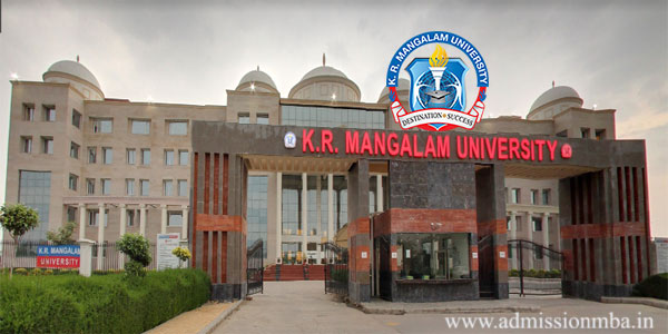 KR Mangalam University Admission 2020
