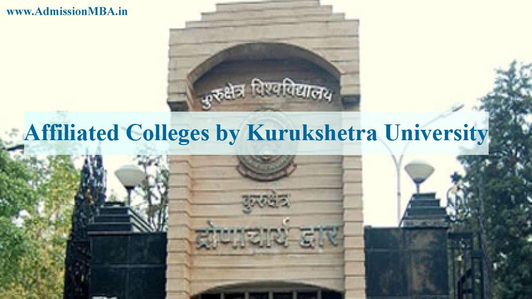 MBA Colleges Affiliated to Kurukshetra University