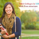 MBA Colleges in GB Nagar with Fees structure