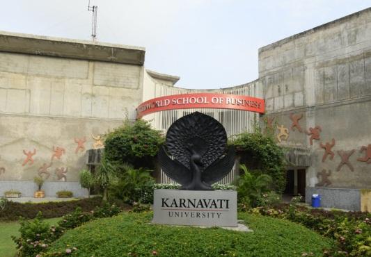 Karnavati University Gandhinagar Campus Infrastructure