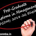 PGDM Course Eligibility