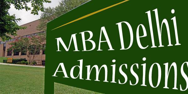 MBA Admissions Delhi