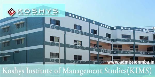 Koshys Institute of Management Studies KIMS