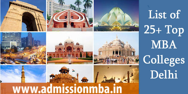 List of 25+ Top MBA Colleges Delhi