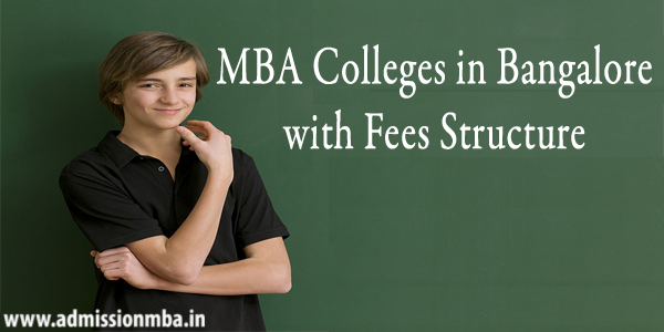 MBA Colleges in Bangalore Fee