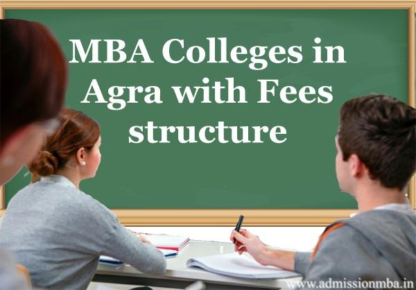 MBA fees in Agra, Uttar Pradesh