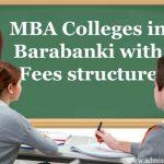 MBA fees in Barabanki, uttar Pradesh