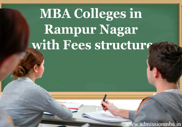 MBA Colleges in Rampur with Fees structure
