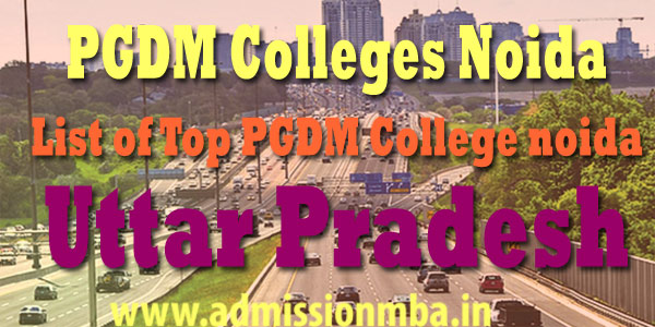 PGDM Colleges Noida with fee